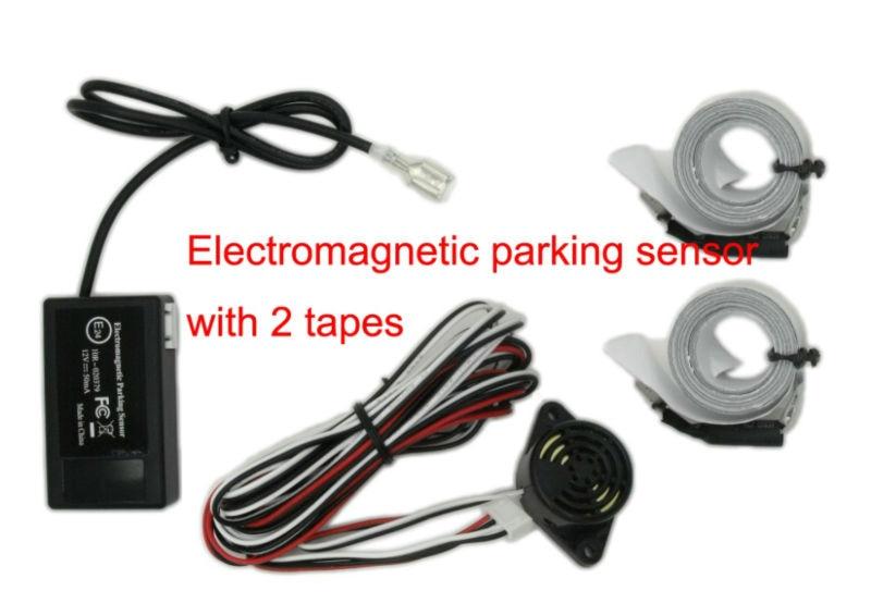 U301 Solenoid पार्किंग सहायता, पार्किंग सहायता प्रणाली, रिवर्स पार्किंग सहायता, कोई छेद, कोई ड्रिलिंग, 2 टेप के साथ