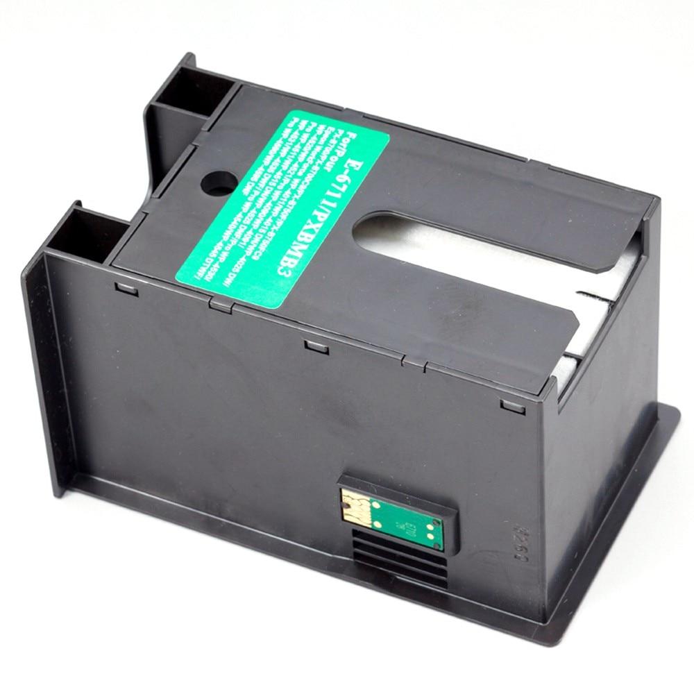 Hot vendas T6711 PXMB3 Caixa de Manutenção para Impressora Epson WF 7610 7620 7720 7110 7210 7510 7615 7710 7715 3010 3520 3530 3540 3620 3640