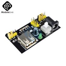 MB102 Power carte électronique   102 mo platine de prototypage, Module dalimentation, 3.3V 5V pour Arduino pain sans soudure, bricolage