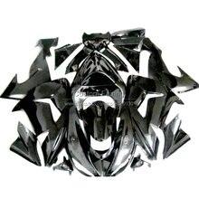 Faitout en plastique ABS Kawasaki ZX 10R   2006 07 2007 06, Ninja zx10r kit de faitout noir brillant TP57