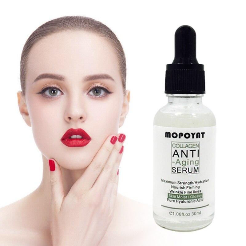 Collagen Peptides Anti Wrinkle Serum For The Face Skin Care Anti-aging Essence Cream Moisturizing Whitening