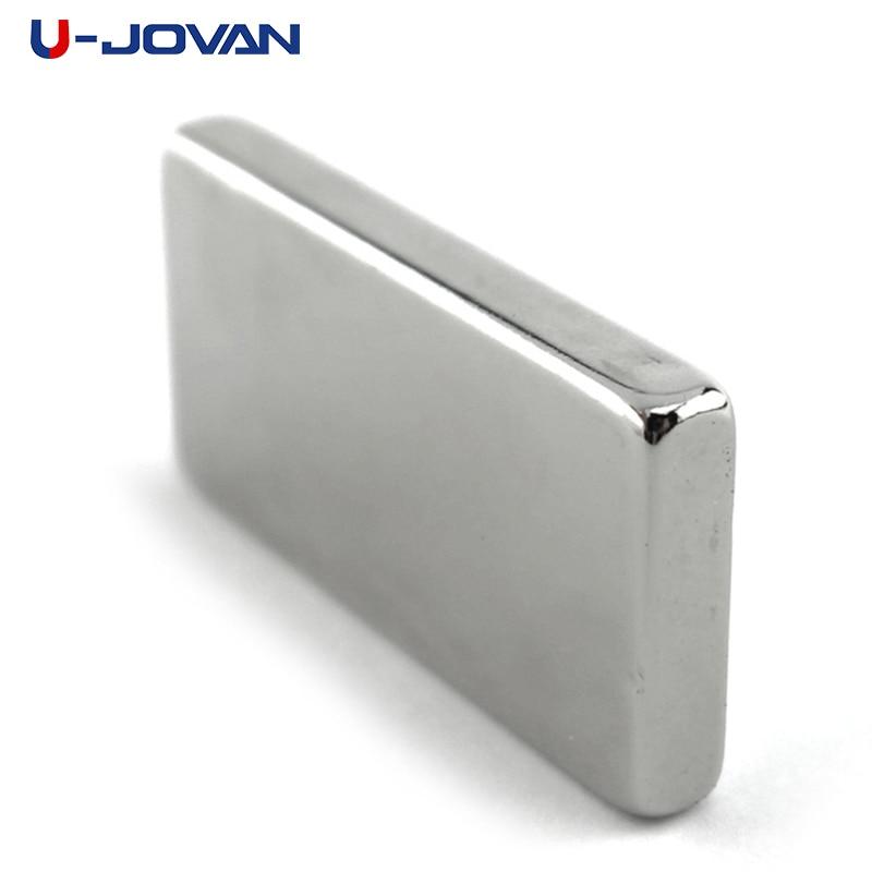 U-JOVAN 2pcs 40mm x 20mm x 5mm N35 Super Strong Neodymium Rare Earth Magnet 40*20*5 Small 40 x 20 x 5 NEW Art Craft Connection