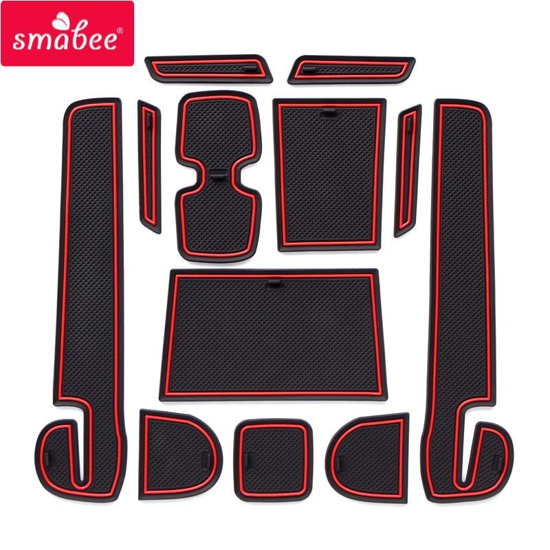 Smabee слот для ворот для SUZUKI SWIFT (ZC33S/13 S/53 S/C83S) Япония на юго-востоке Asi Нескользящие Коврики для межкомнатных дверей/чашки