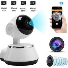 Caméra sans fil 720P HD WiFi CCTV   Sécurité IP, caméra casserole inclinée, moniteur bébé/carte mémoire