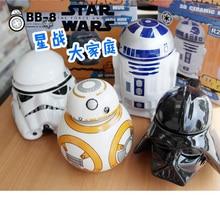 Tasse en céramique Star Wars créative   Robot, tasse à café Robot Darth Vader tasse de thé en porcelaine, gobelet pour enfants cadeau ami