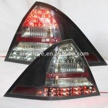 2001-2004 année pour mercedes-benz W203 C32 C36 C280 C230 C320 C240C180K C200K feu arrière LED lampe arrière fumée couleur noire SN