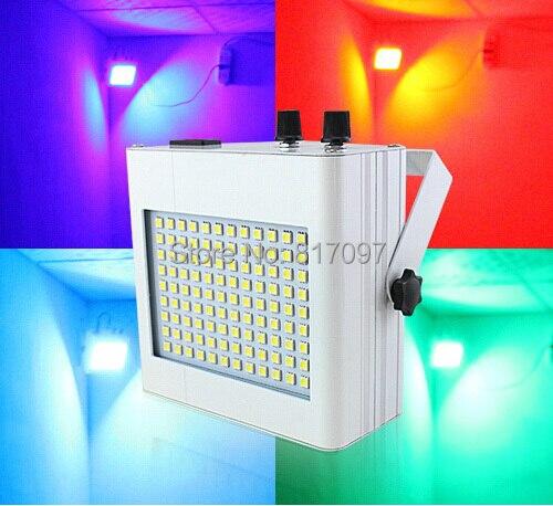 Luz estroboscópica LED para DJ, iluminación de 108 piezas SMD5050 RGB, Luz...