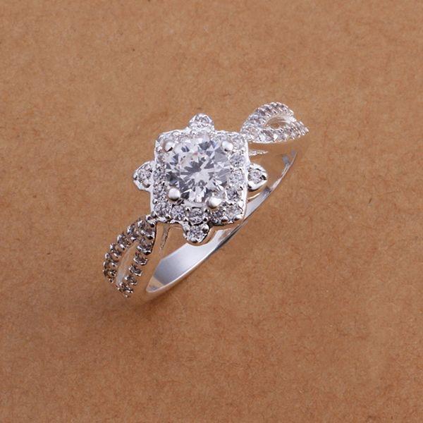 R175 joyería de moda 925 joyería de Color plateado anillos de dedo populares para mujeres encantadores anillo HERMOSO/bhkajyra Axdajoka