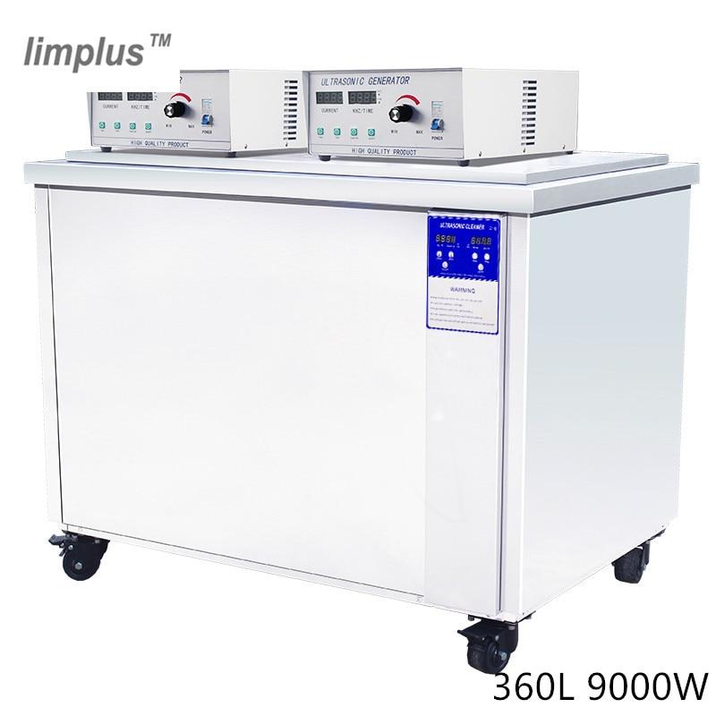 Limpiador ultrasónico Industrial de 360L instrumentos técnicos e industriales arandela de circuitos microelectrónicos y componentes pequeños