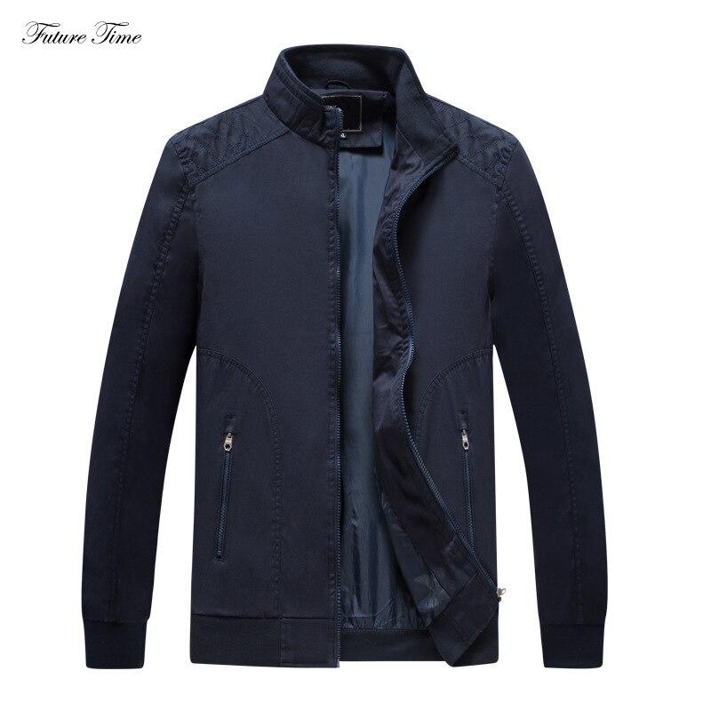 Мужская куртка свободного покроя большие размеры одноцветные тонкие