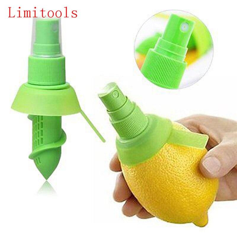 Exprimidor de jugo de naranja exprimidor de jugo de limón espray niebla de naranja exprimidor de fruta herramienta de cocina envío gratis 1 unidad