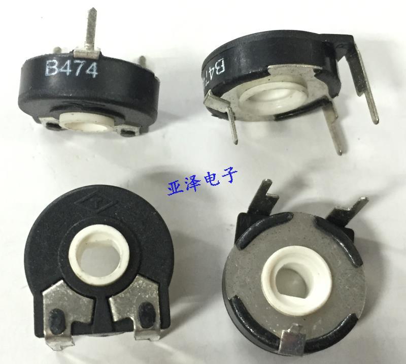 5 шт./лот T брендовый испанский потенциометр, регулируемый PT15-470K, горизонтальный полуосевой резистор