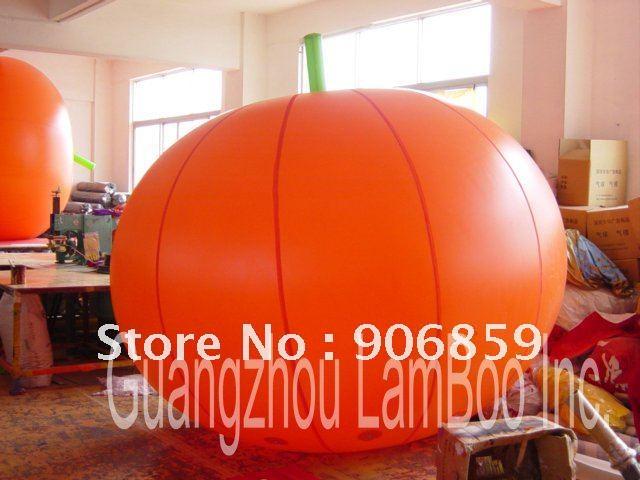 A la venta 2,5 m gran globo de calabaza inflable para publicidad