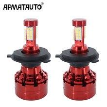 Ampoule Auto phare 12v 24v 80W H4 Hi lo   1 lot de phares Auto, pour Toyota Sequoia Sienna Solara Tacoma Tundra