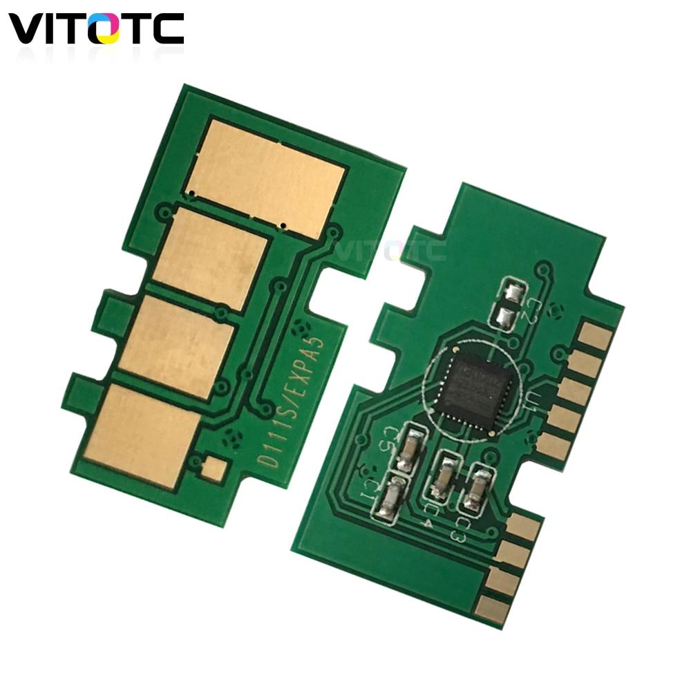 MLT-D111S D111 111 chip de restablecimiento de Tóner para Samsung M2020 M2020W M2021 M2021W M2022 M2022W M2070 M2070W M2071 chip de cartucho para impresora