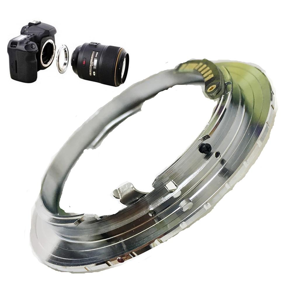 VENES para ni-eos EMF AF Confirm adaptador adecuado para Nikon F montaje lente a Canon (D) SLR Cámara 7D Mark II 5D Mark III 5D Mark II 5D
