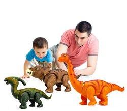 38cm rc elétrico caminhada posição ovos dinossauro, controle remoto, robô eletrônico com som claro para crianças, bebê, brinquedos, natal presente