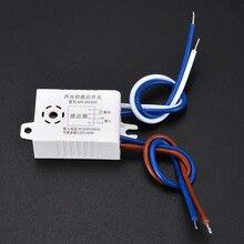 Interrupteur de lumière ca 220V   Interrupteur de lumière de rue, contrôle de Photo, capteur vocal, automatique pour usage domestique