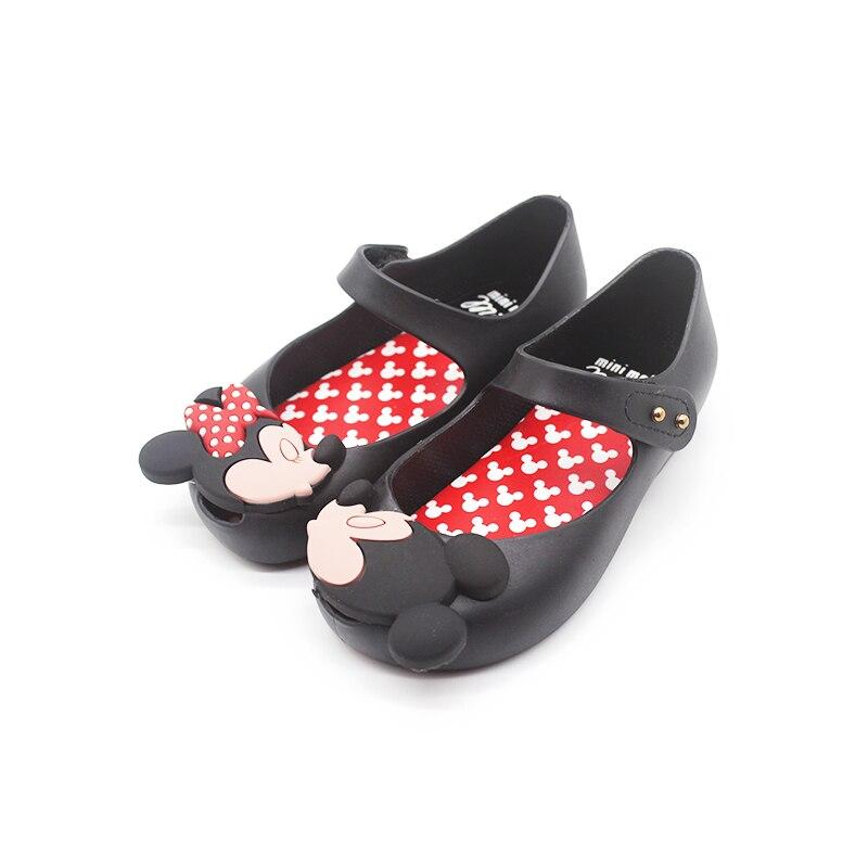 Mini Melissa ultrairl Sweet Girls zapatos gemelos ratón 2019 nuevo estilo chico Sandalia de playa Cute Melissa Girls Jelly sandalias
