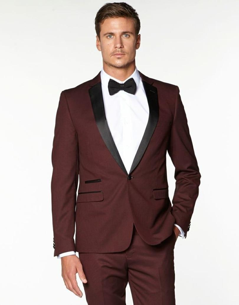 بدلة زفاف كلاسيكية عنابي اللون ، بدلة زفاف رجالية ، ملابس عريس ، 2021