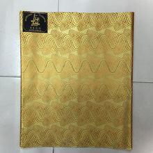 Nigerii Sego tkaniny złoty kolor 2 sztuka nigerii Gele HeadTie wysokiej jakości afryki Sego HeadTie tkaniny Headtie Gele i owijki
