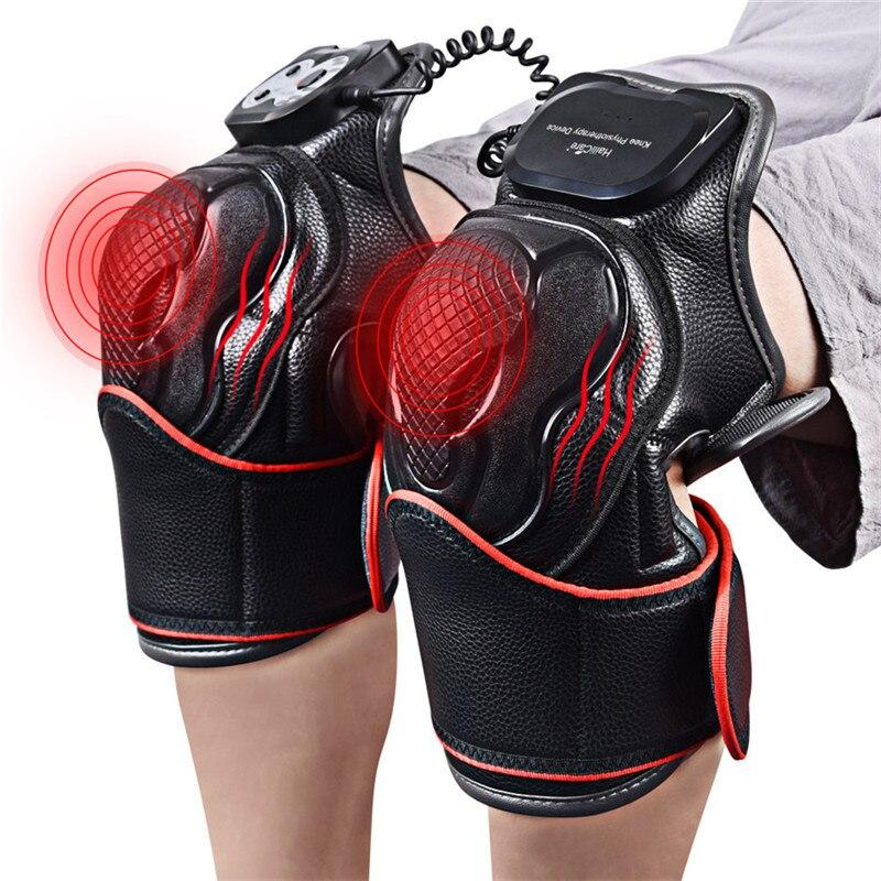 Massageador com aquecimento vibratório, massageador para terapia magnética com articulações, fisioterapia, alívio da dor no joelho