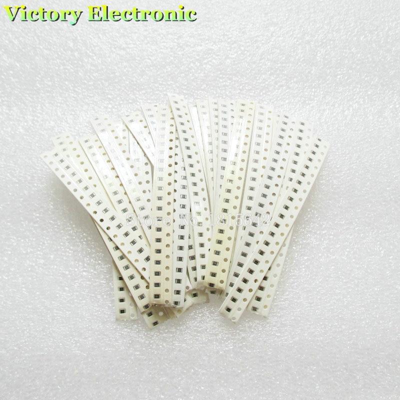Набор резисторов 0805 SMD 43R-560R, 500 шт., 25 видов резисторов-чипов 43 Ом-560 Ом