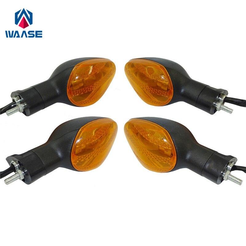 waase Turn Signals Blinker Indicator Bulb Light Lamp Amber For HONDA CB1000R CB1300 NC700S NC700X CB500X CBR500R CB600F CBF125