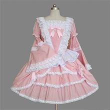 Vintage victorien 1860s guerre civile robe de bal gothique Lolita robe Renaissance robe Halloween Cosplay fête femmes Lolita robes