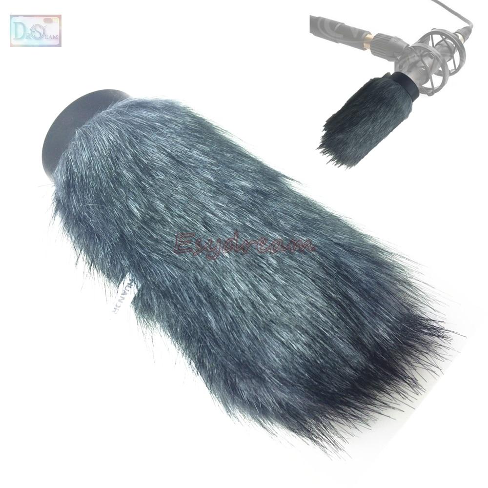 Profissional ao ar livre furry capa windscreen muff para rode ntg2 NTG-2 microfone deadcat vento shield