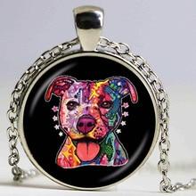 Collier américain pour chien, collier pour chien Pit Bull, pendentif de sauvetage pour chiot, bijoux pour amoureux des animaux