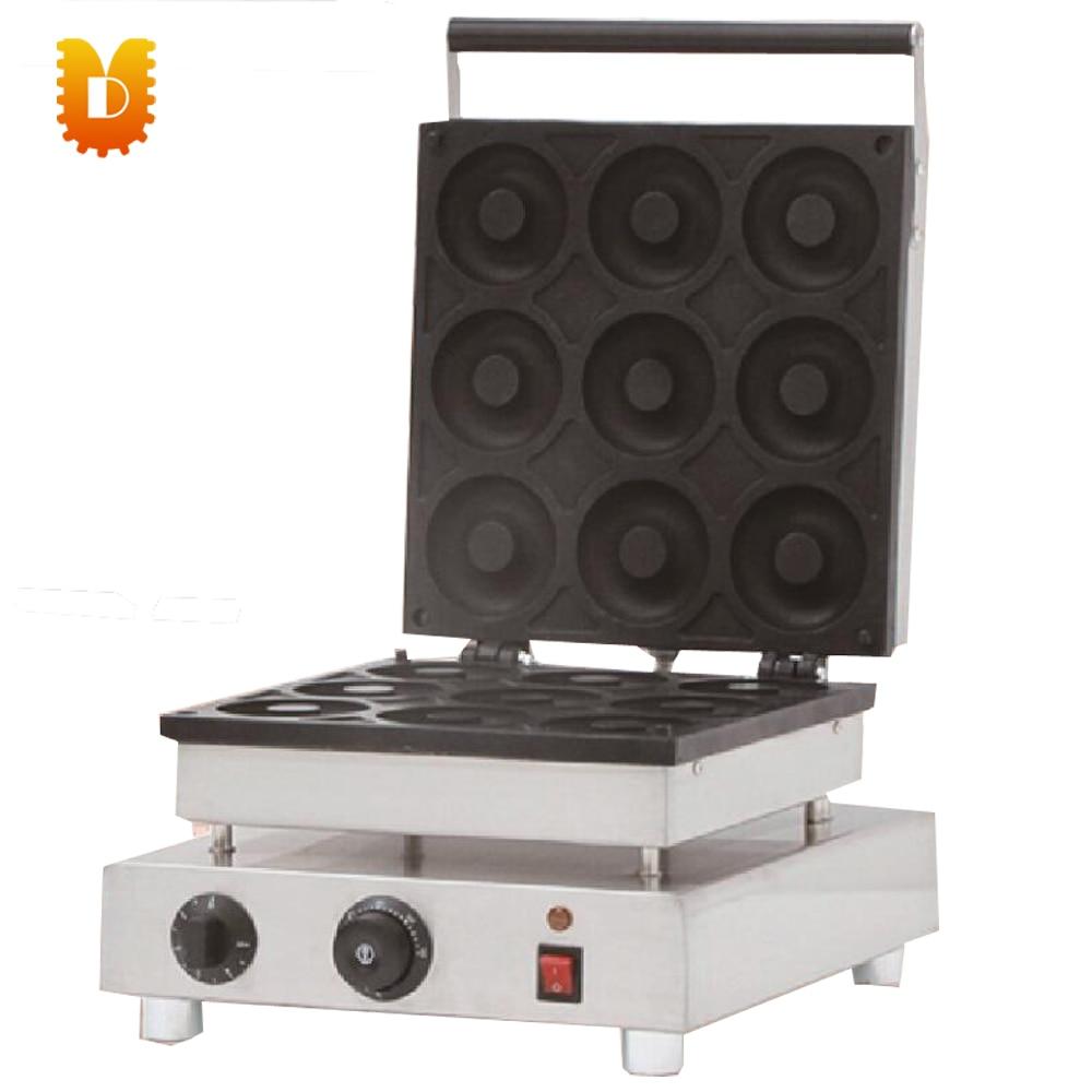 Máquina manual de fabricación de donas 9 uds/fabricantes de rosquillas