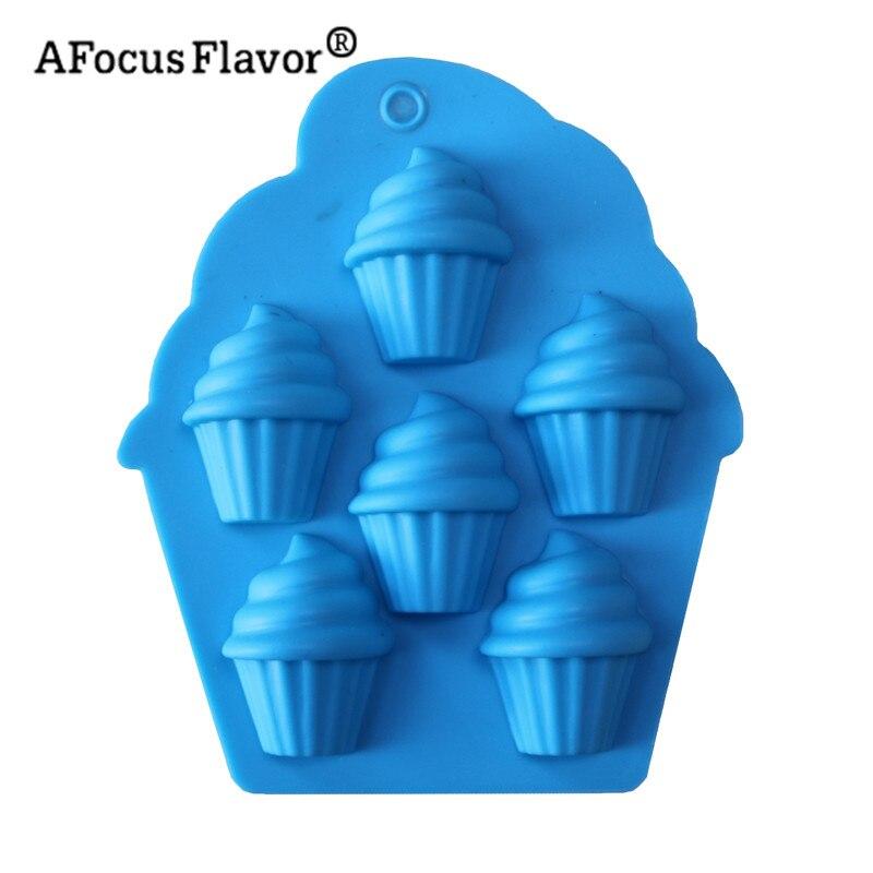 Herramientas de decoración de tartas, 1 ud., molde DIY para crema y Chocolate, molde de hornear de silicona, molde de Fondant para jabón, herramienta de formación de cocina