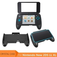 Nintendo New2DSLL Kristal Kılıf Kapak Nintendo Yeni 2DS LL XL Konsolu Gamepad Kolu Kavrama Yeni 2 DSLL 2 DSXL joypad Braketi Tutucu