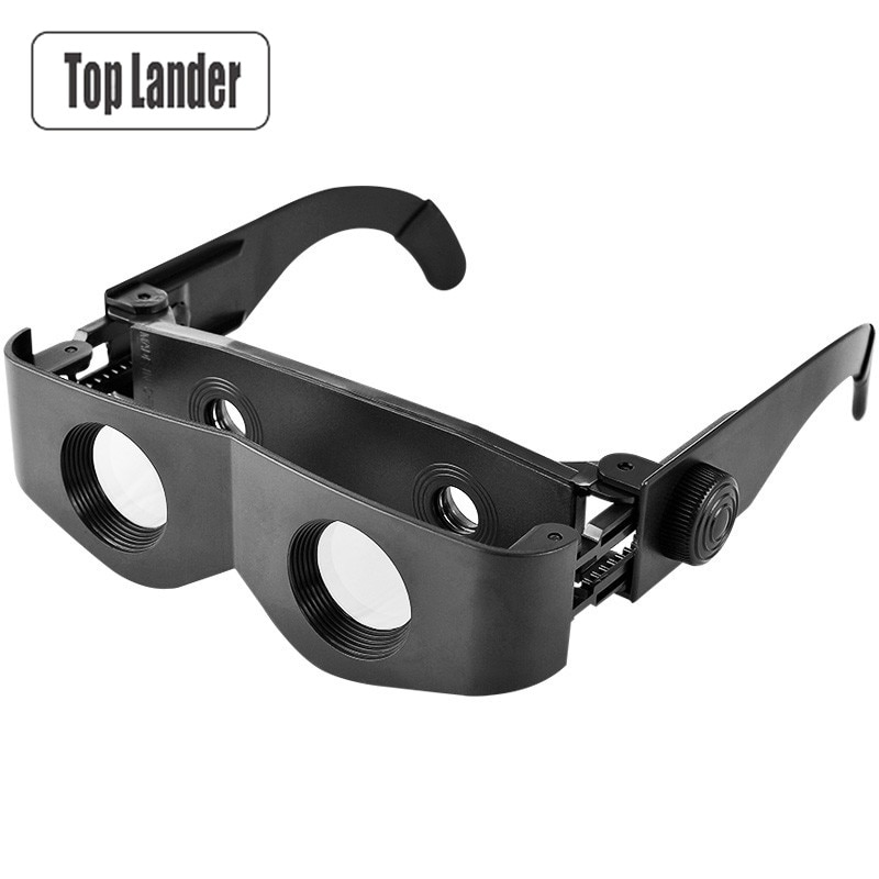 4x binóculos para óculos de pesca portátil ao ar livre lupa teatral binóculos alta potência binocular profissional
