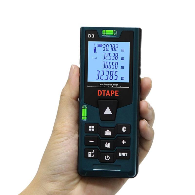 DTAPE D3 Digital Laser Distance Meter 40-100m Rangefinder Range Finder laser rangefinder distance meter Measure Distance Tester
