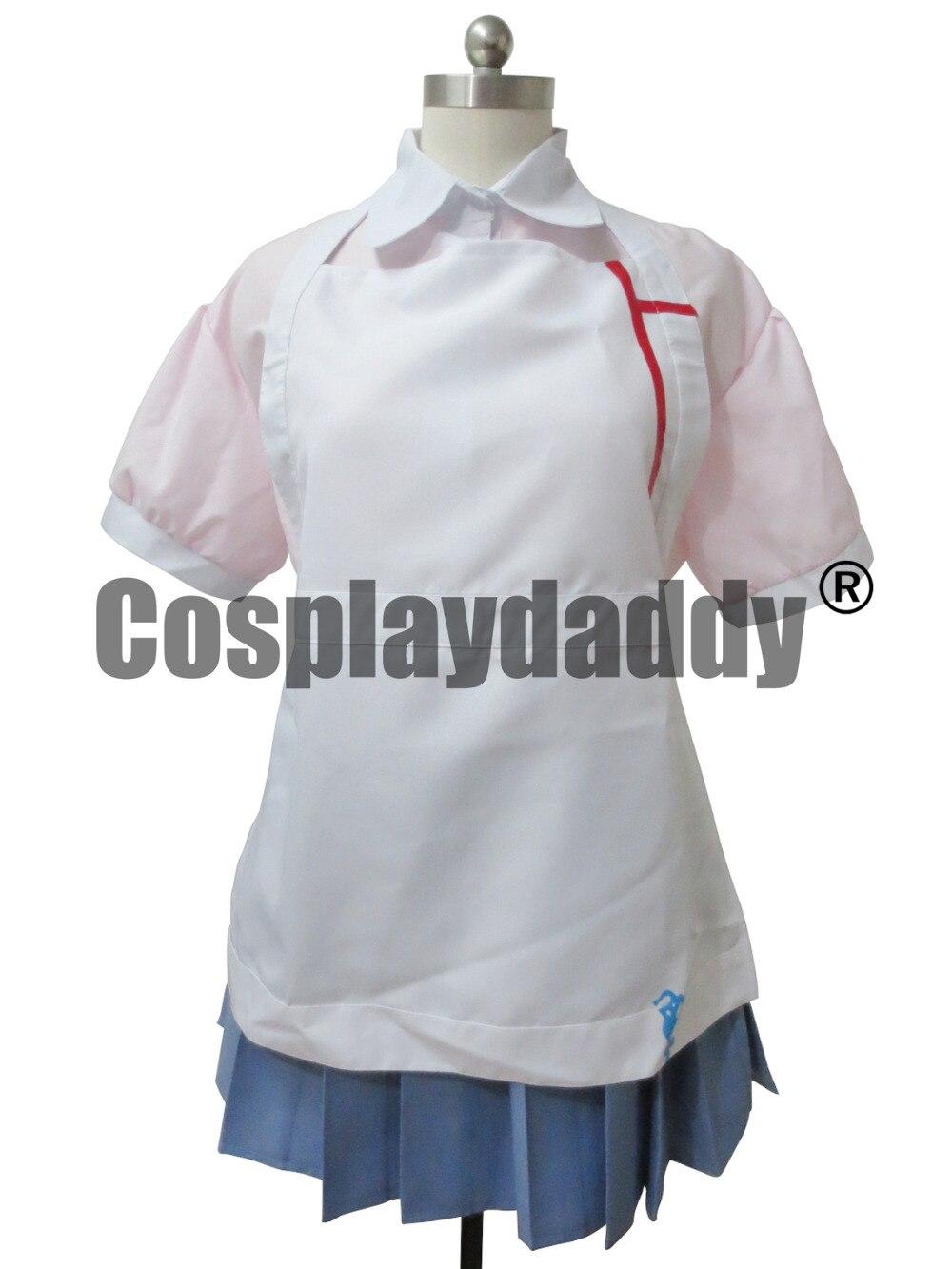 Super Dangan Ronpa 2 Danganronpa Mikan Tsumiki Cosplay Costume Outfit