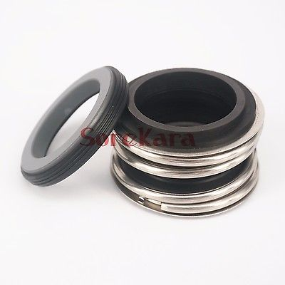 30/32/35/38/40/45mm diâmetro interno bomba de água mecânica selo do eixo única bobina mola carboneto de silício vs carboneto de silício nbr