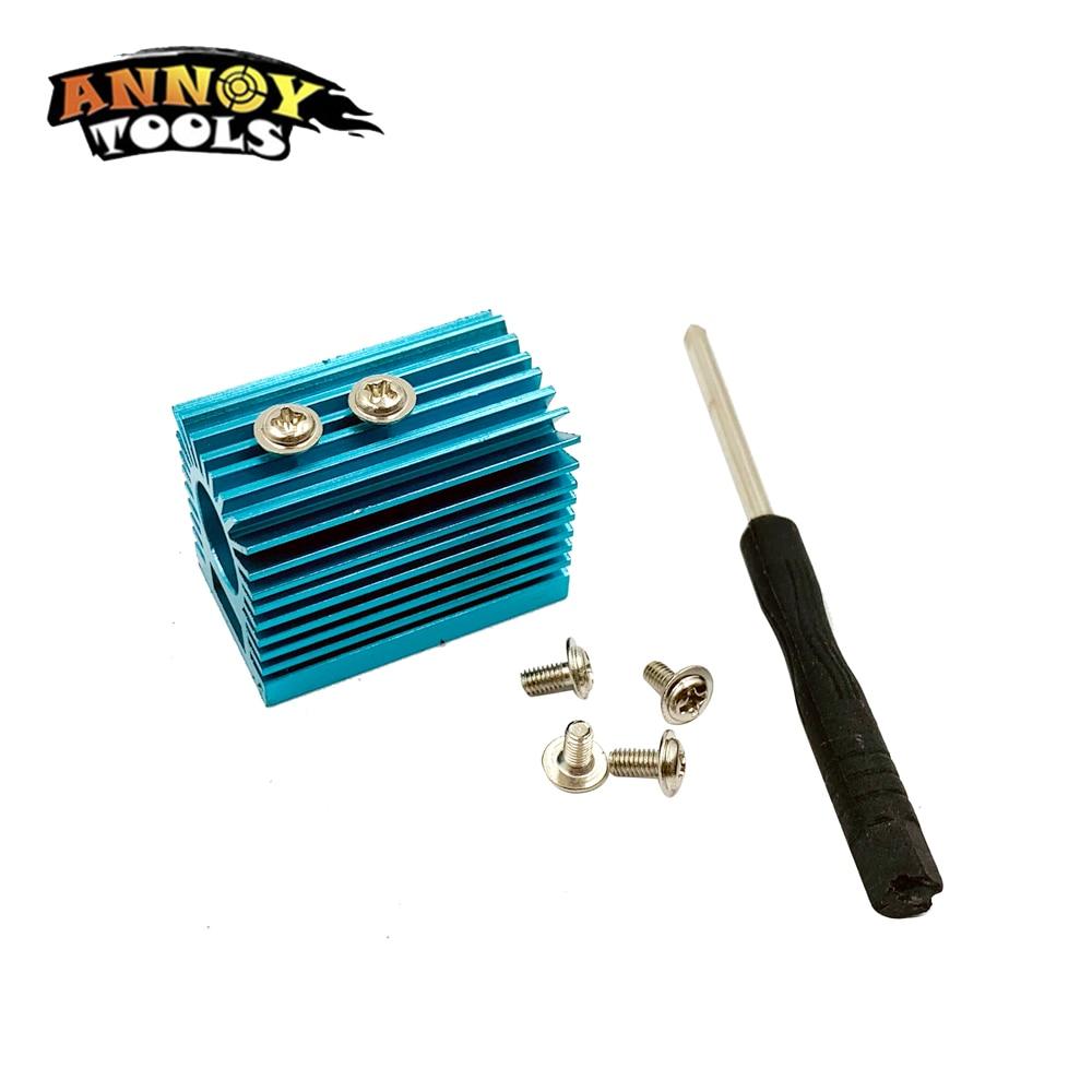 Módulo láser 12mm disipador de calor soporte disipador térmico de refrigeración piezas CNC