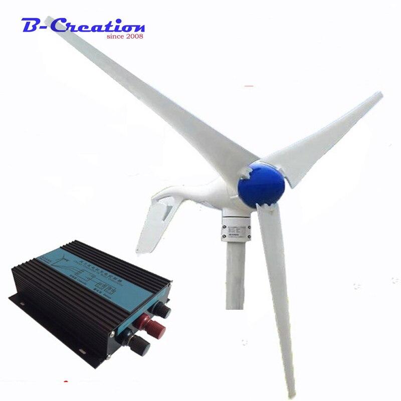 Générateur dénergie Permanent 12/24v 400w   Broyeur à vent à usage domestique Eolico Gerador dénergia
