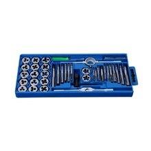 40 pièces/ensemble métrique robinet clé pointe et Die Set M3-M12 filetage bouchons métriques robinets écrou boulon alliage métal outils à main ensemble