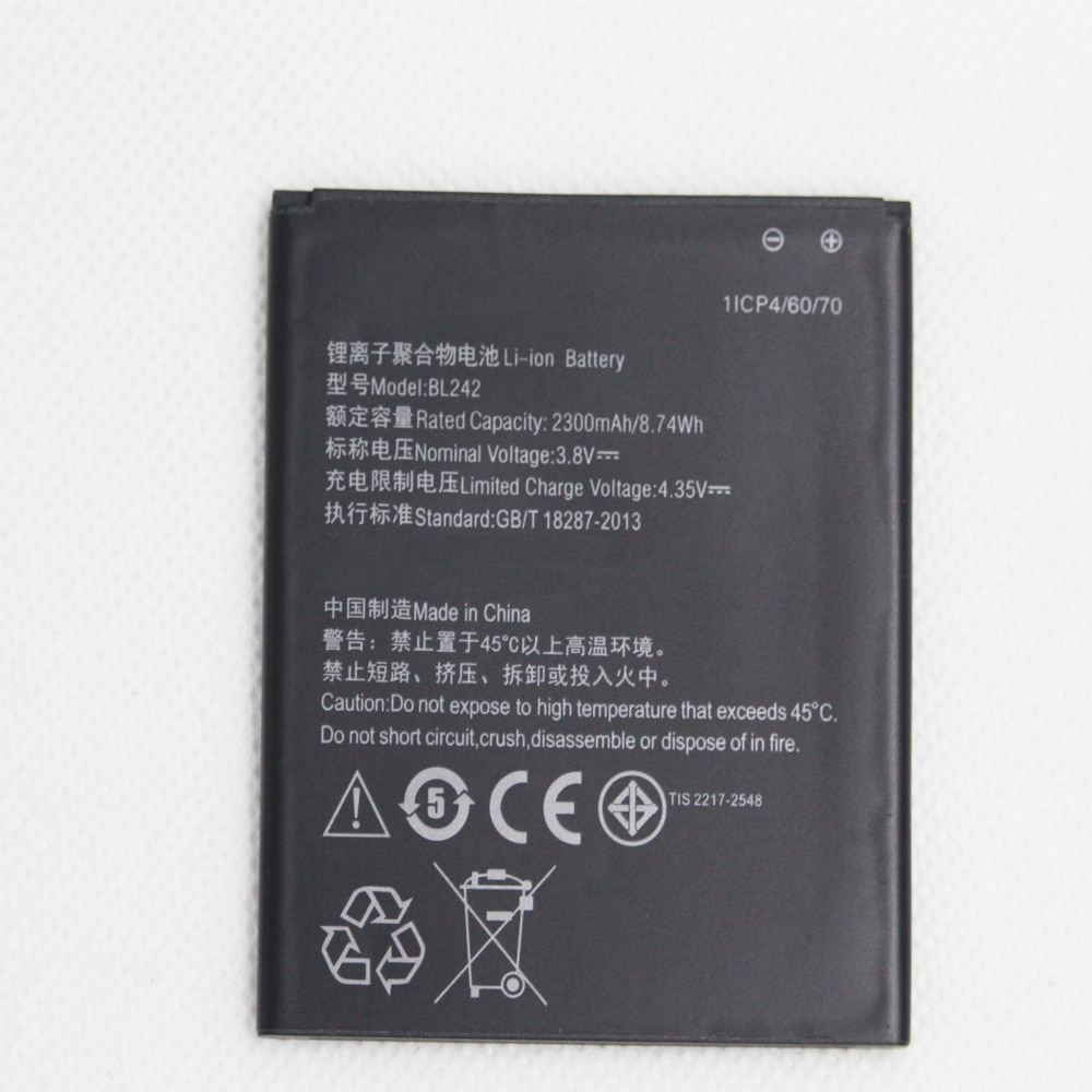 Marke Neue BL 242 Batterie BL242 Für Lenovo K3 K30-W K30-T A6000 A3860 A3580 A3900 A6010 A6010 Plus 3,8 V 2300mAh Mobile erweitert