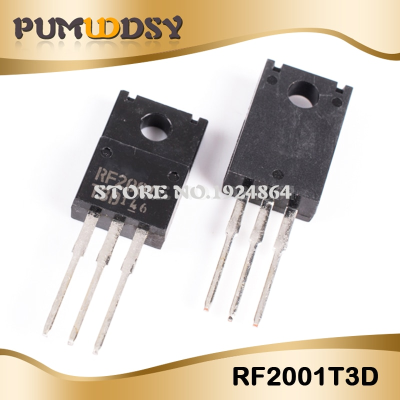 10 unids/lote RF2001 T3D RF2001T3D RF2001-T3D TO-220F IC
