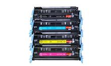 4 sztuk/zestaw nowy kompatybilny toner kaseta Q6000A/CRG307 dla HP 2605 2600 1600 CM1017 CM1015 zestaw kopiarki toner laserowy kolor KYCM
