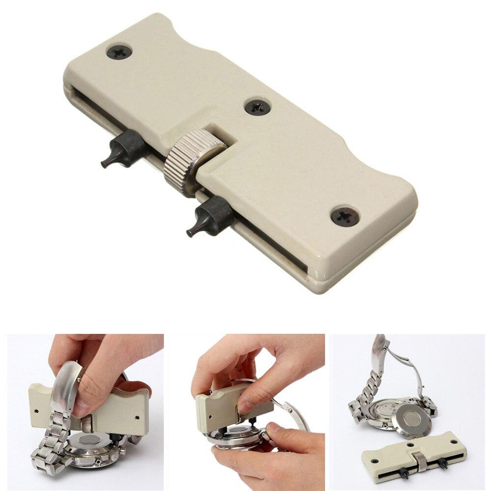 1 комплект, регулируемый Открыватель для часов, задняя крышка, отжимающий инструмент для ремонта часов, отвертка, инструменты для открывания часов #714