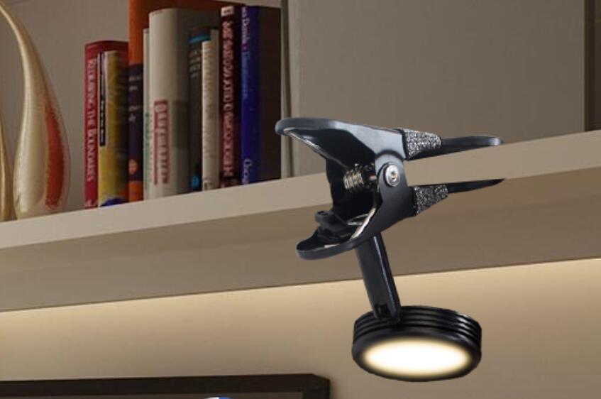 Clip Led pequeña lámpara de escritorio dormitorio luces de noche lectura ojo clip luz dormitorio USB mini luz roja pecera clip luz SD106