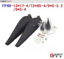 Freeshipping  FP40-13*17-4 Aluminum Spinner With Propeller  For RC Plane