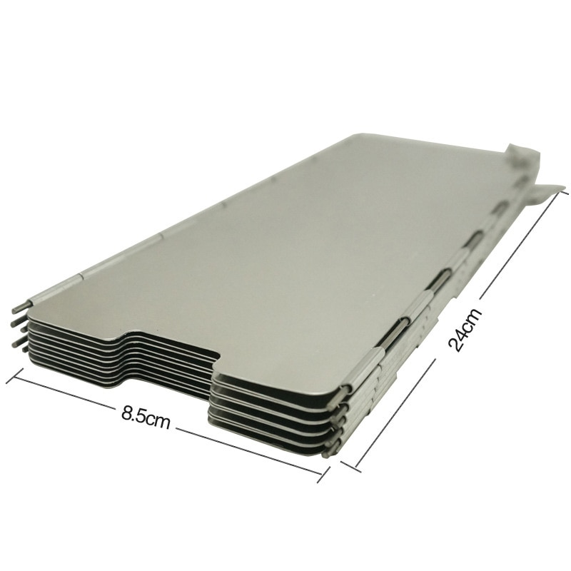 8-Piece Barge-board Stunning  Aluminum Alloy Outdoor  Windshield with a Carrying Bag