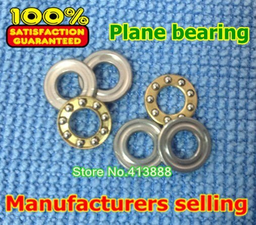 500pcs/lot free shipping Axial Ball Thrust Bearings F7-15M 7*15*5 mm Plane thrust ball bearing