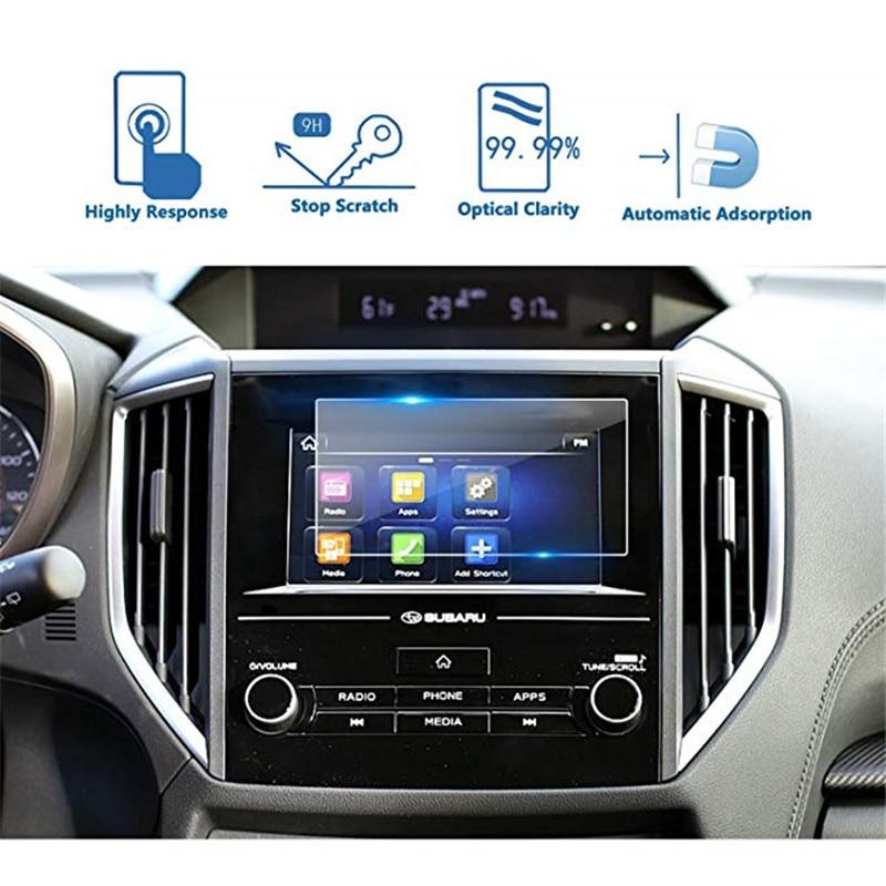 For Subaru 2018 Crosstrek Impreza Starlink 6.5 Inch Car Navigation Screen Protector Tempered Glass Touch Screen Protector